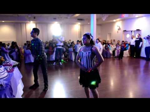 tribal sweet 15 surprise dance