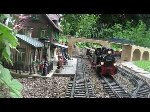 LGB Piko Gartenbahn Spur G Trains HSB in der Lüneburger Heide im Kreis Uelzen bei Bad Bevensen
