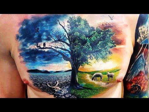 Unforgettable Landscape Tattoo Ideas That Will Melt Your Heart