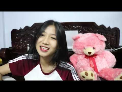 Cambodian cute girl cover thai song guitar