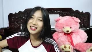 Cambodian cute girl cover thai song guitar