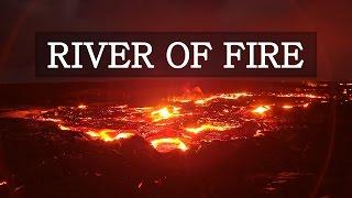 River of Fire - Mesmerizing Hawaii Lava Timelapse 4K
