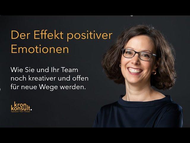 Positive Emotionen im Team kultivieren