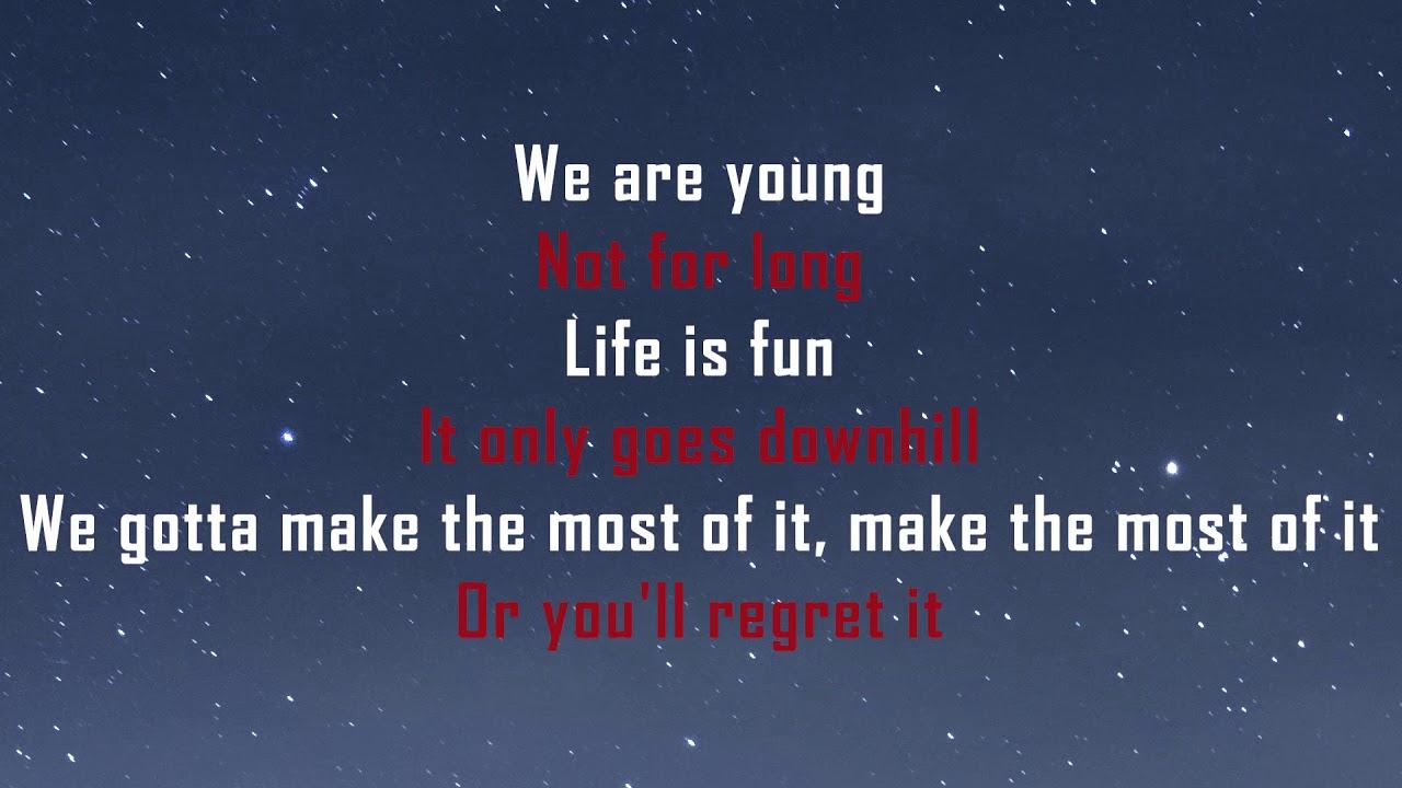 Theodd1sout Life Is Fun Lyrics Ft Boyinaband Youtube