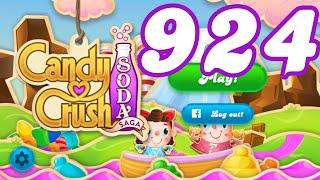 Candy Crush Soda Saga Level 924 No Boosters