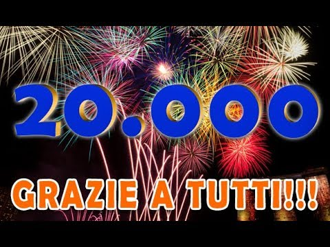 20.000 ISCRITTI!!  GRAZIE A TUTTI!
