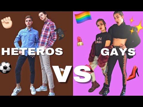 HETEROS básicos VS GAYS divas   SIAMEGAS
