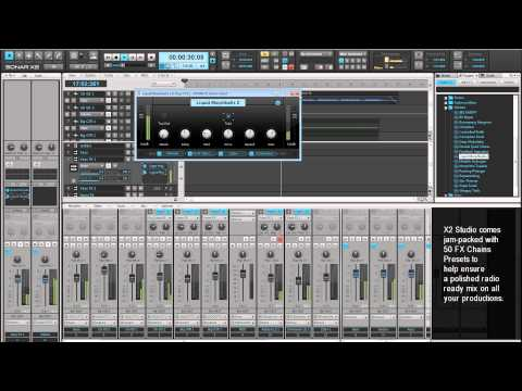 SONAR X2 Studio Overview - Advanced Music Creation Software