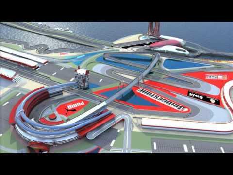 Graduation project trailer-ferrari red racing school 2011-kingdom of bahrain