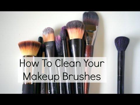 at home makeup brush cleaner. diy makeup brush cleaner | at home products at home