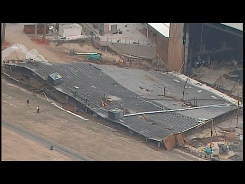 Roof Of Merriweather Post Pavilion Collapsed