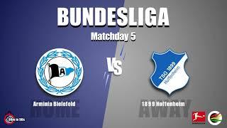 Arminia Bielefeld vs. TSG Hoffenheim - Bundesliga Season 21/22