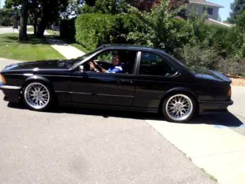 Bmw E24 M6 635csi Burnout Exhaust Sound Sweet Youtube