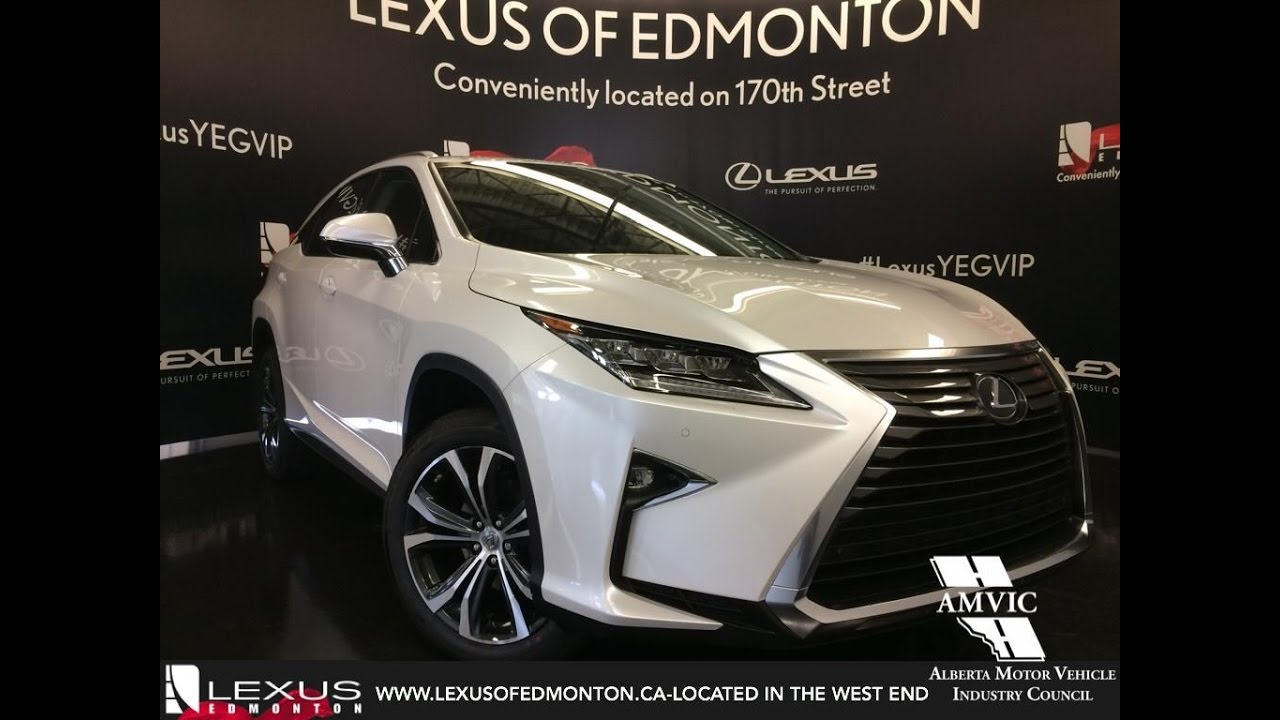 2017 Lexus Rx 350 Awd Review