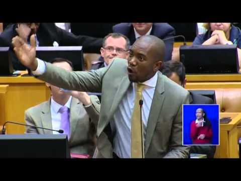 Maimane Questions Zuma on Nkandla
