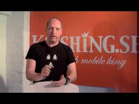 Katshing testar Nokia 6600 Slide