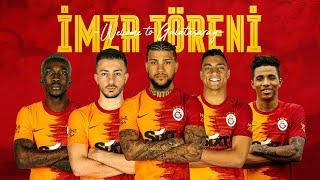 📺 Yeni transferlerimizin imza töreni #BeşiBirYerde - Galatasaray