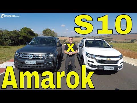 Comparativo: VW Amarok V6 x Chevrolet S10 High Country