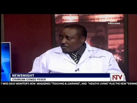 NEWS NIGHT: Dr. Mukuzi Muhereza discussing the outbreak of Crimean Congo fever in Uganda