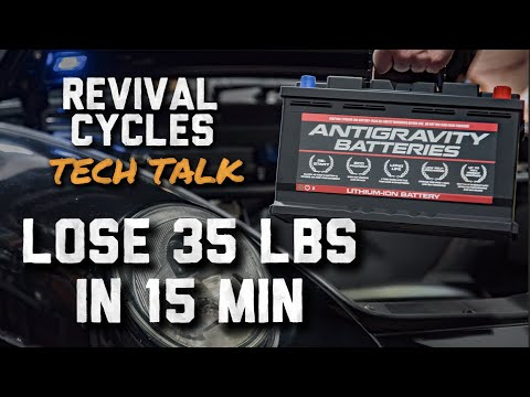 Huge Smart Phone Battery in a Porsche?? // Revival Cycles Tech Talk