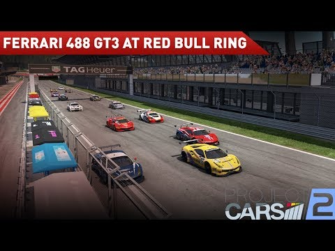 Project Cars 2: First ever online race. GT3 at Redbull Ring
