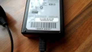 OEM ORIGINAL HP AC POWER ADAPTER 0957-2231 32V 375MA 16V 500MA C4480 PRINTER