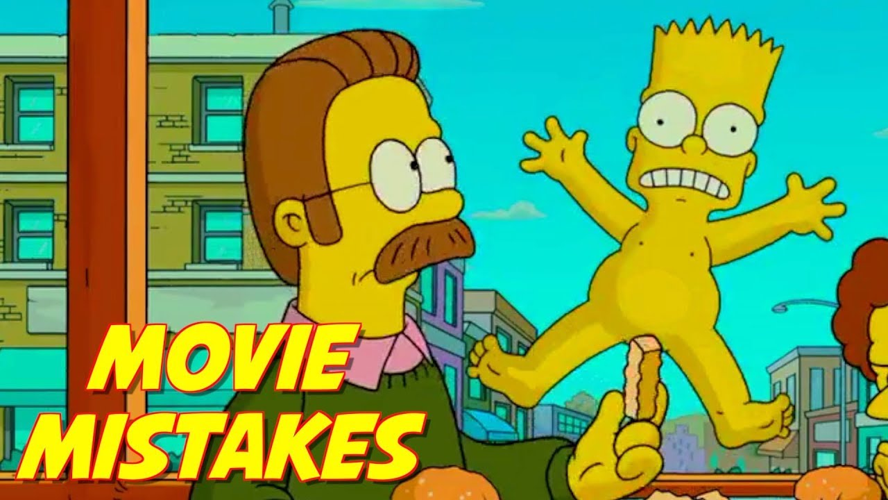 Simpsons Movie Mistakes That Slipped Through Editing The Simpsons Fails Bart Simpson Goofs Youtube