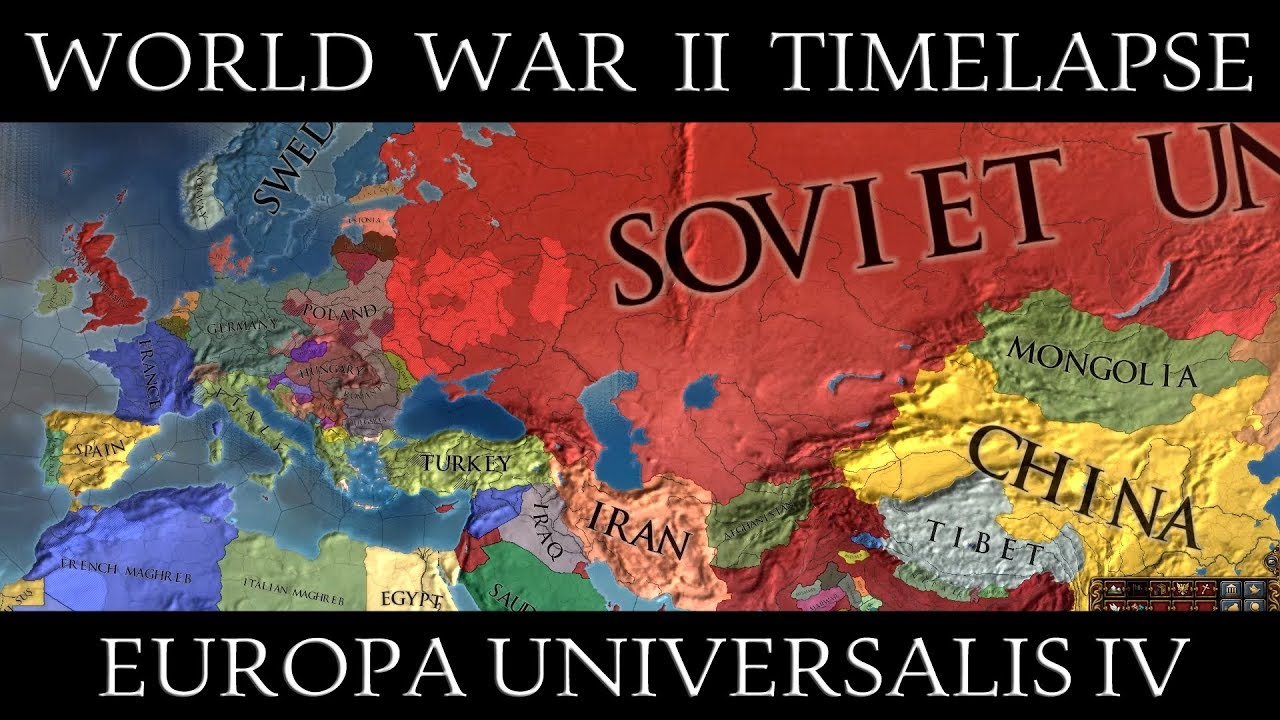 EU4: World War II Extended Future Timelapse