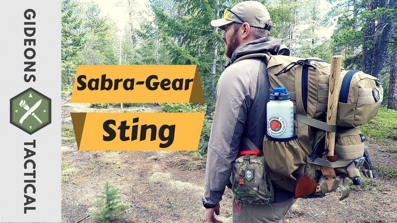 sabre gear backpack