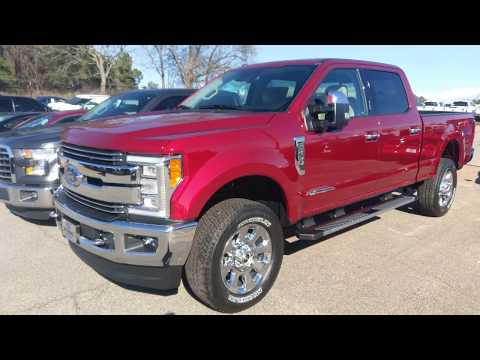 2018 Ford F350 Lariat - Ruby Red - 6.7L V8 Power Stroke - Quick Walk Around