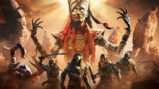Assassin's Creed: Истоки — Русский трейлер дополнения «Проклятие фараонов» (2018)