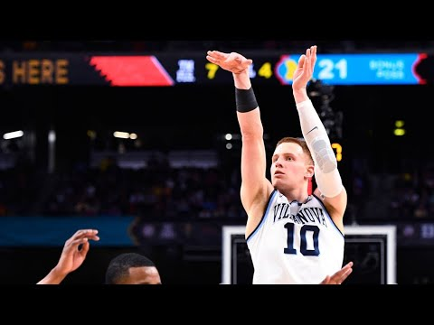Watch Donte DiVincenzo\'s 5 3-pointers in the 2018 National Championship game