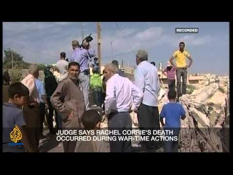 Inside Story - Has justice evaded Rachel Corrie's family?