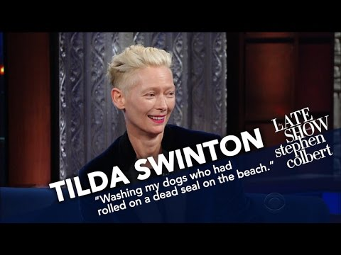 Tilda Swinton's Acting Inspiration Came From A Donkey