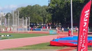 WMAC 2015 Lyon 400 m M60 semi H1