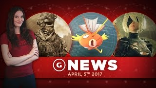 Call of Duty Films Forming Marvel-Style Universe & Nier: Automata Sales! - GS Daily News