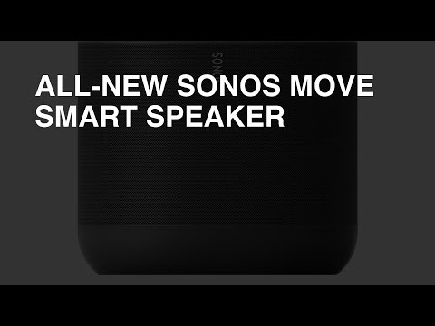 All-New Sonos Move Smart Speaker review - Overall Rating: 8.6 / 10