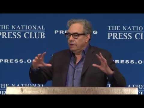 Lewis Black speaks at the National Press Club - April 14, 2014