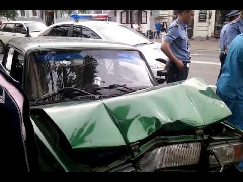 Авария на Большой Московской