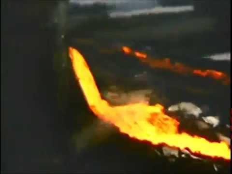 Slag Pouring (1975) In Sudbury Ontario