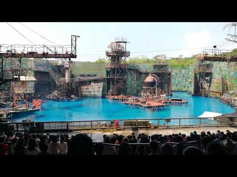 WaterWorld Show - Universal Studios Singapore