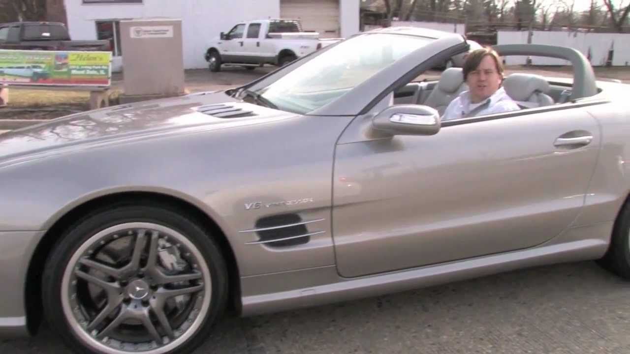 Mercedes benz sl55 amg d m motorsports video test drive for Mercedes benz sl55 amg