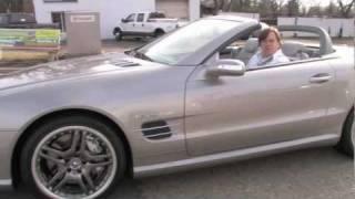 Mercedes-Benz SL55 AMG--D&M Motorsports Video Test Drive 2012 Chris Moran