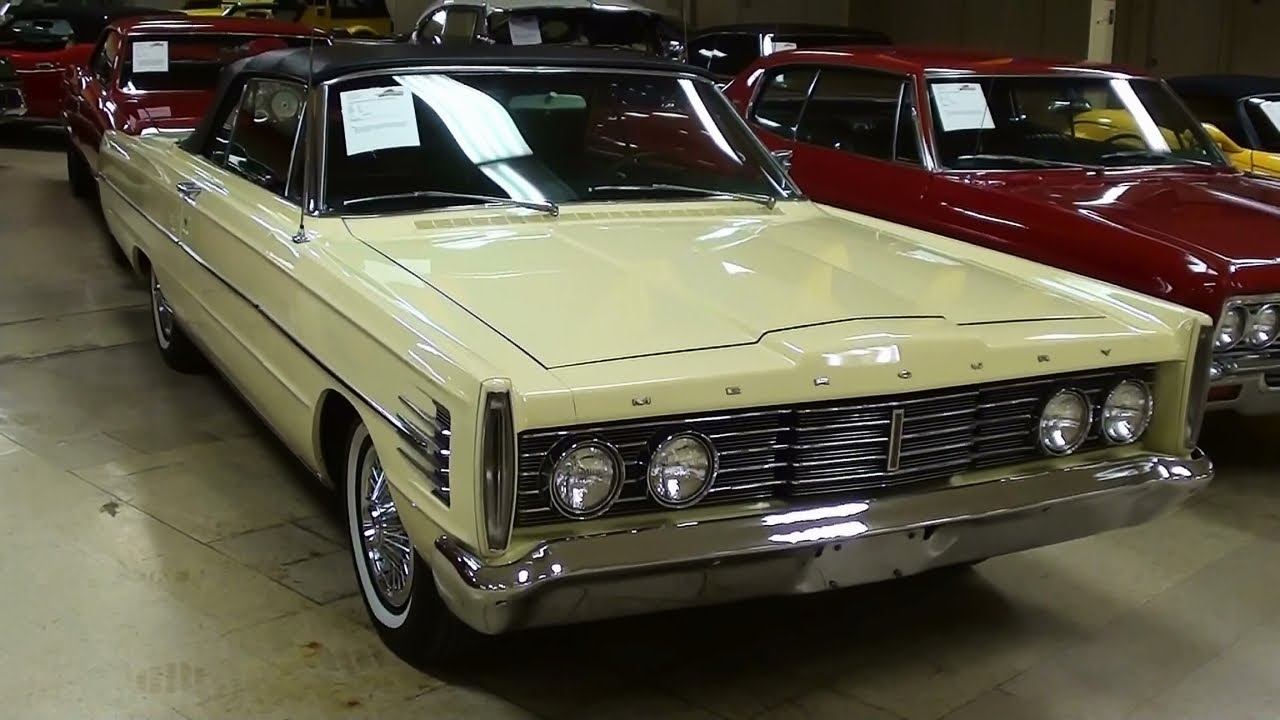1965 Mercury Monterey Convertible 390 V8 Youtube