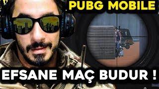 İŞTE EFSANE MAÇ BUDUR !!! - PUBG Mobile
