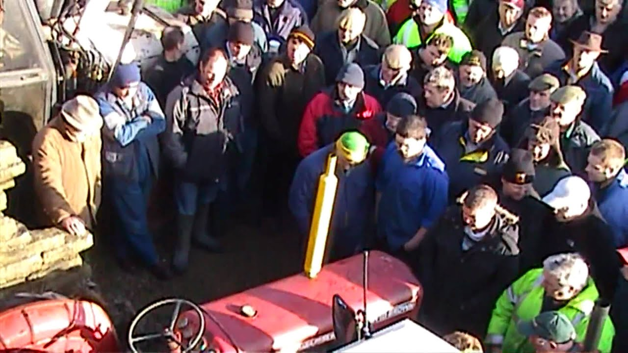 David Brown Tractor Club Auction At Spinks Mill Meltham