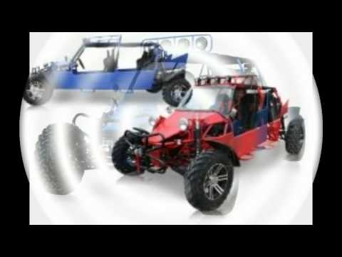 BMS Sand Sniper 1000 BLUE Gas 4 Cylinder 4 Seat Dune Buggy Go Kart Review