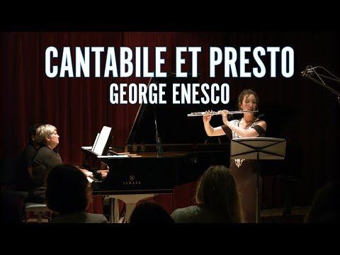Cantabile et Presto | George Enesco | Amelie Brodeur