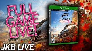 FORZA HORIZON 4 FULL GAME!  | JKB LIVE