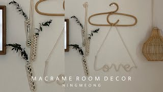 #DIY • Macrame Room Decor / Pl…